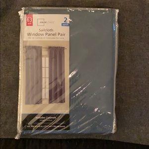 "63"" Sailcloth Window Panels (2)"